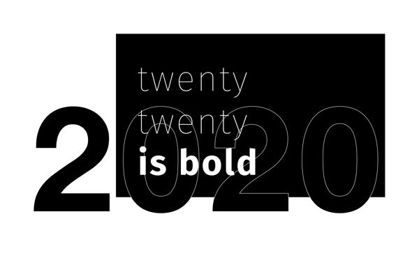Typografie Grafik Designtrends 2020 - sunzinet AG