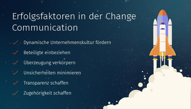 Erfolgsfaktoren in der Change Communication